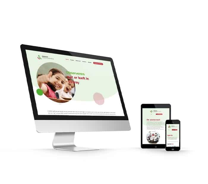 Adviesraad Sociaal Domein Venray website webdesign WordPress Elementor Pro