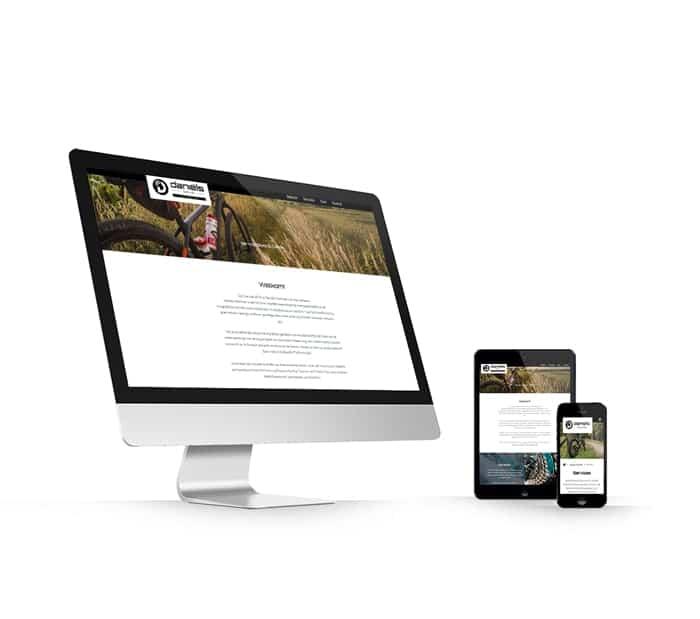 Daniels Techniek website webdesign