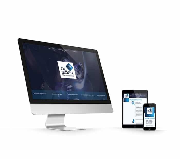 De Boer Metaaltechniek website webdesign WordPress Elementor Pro