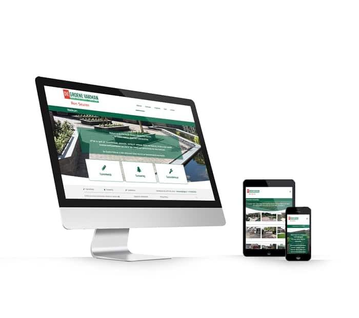 De Groene Vakman Ron Seuren website webdesign WordPress Elementor Pro