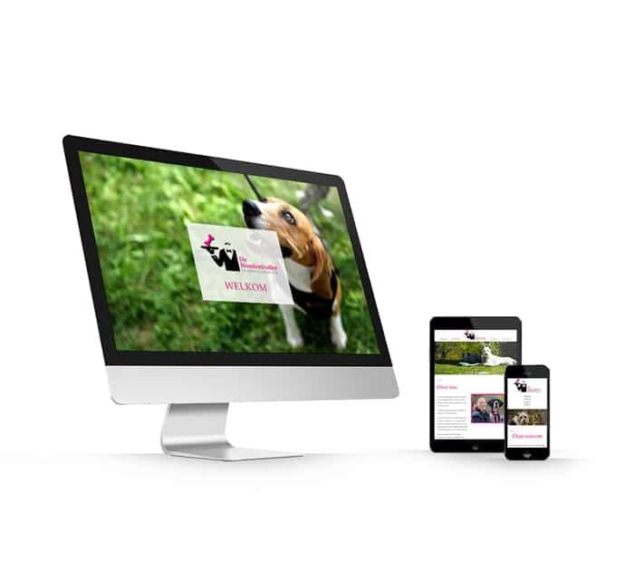 De Hondenbutler website webdesign WordPress Elementor Pro