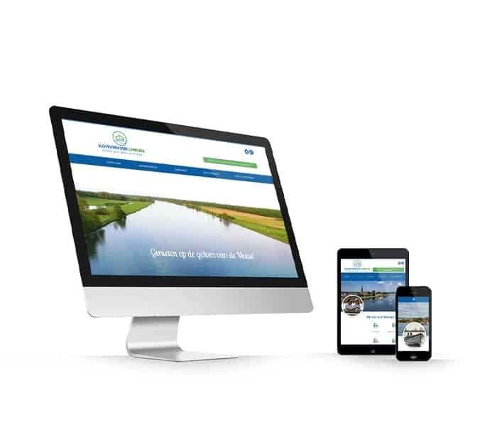 Sloepverhuur Limburg website webdesign WordPress Elementor Pro