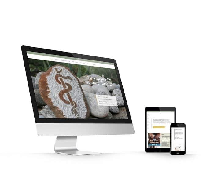 Van de Ven Training en Advies website webdesign WordPress Elementor Pro