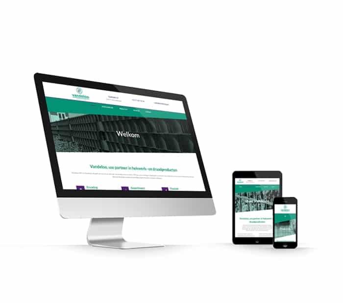 Vandeloo Wire Fencing website webdesign WordPress Elementor Pro